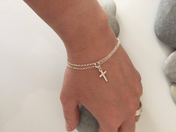 sterling silver cross bracelet 5e45c0c7 scaled