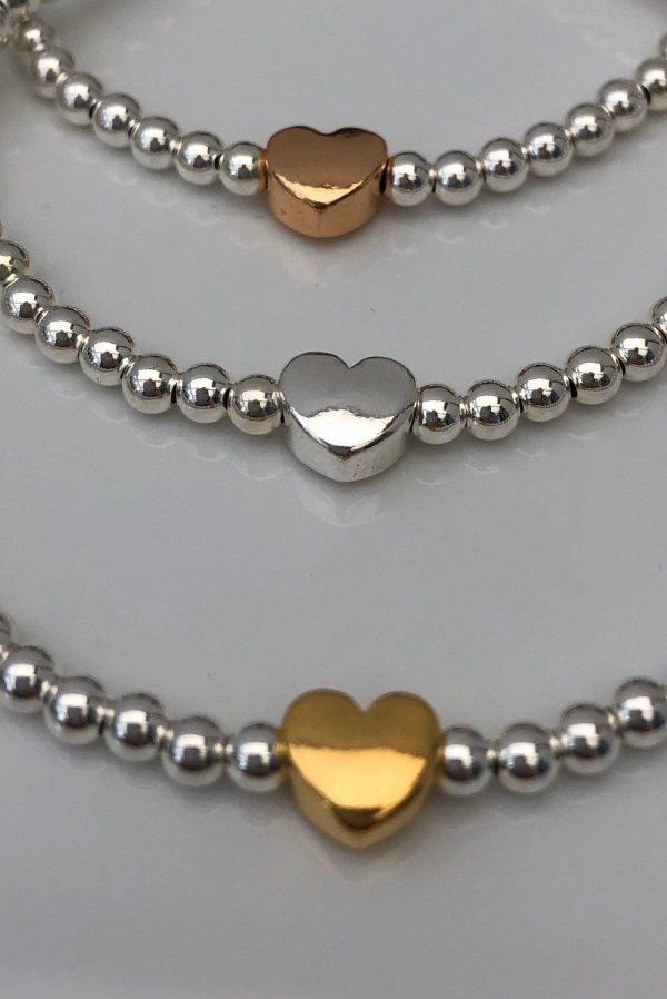 sterling silver heart bracelet 3 5e45aef8