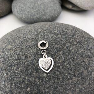 sterling silver heart charm 5e45771c