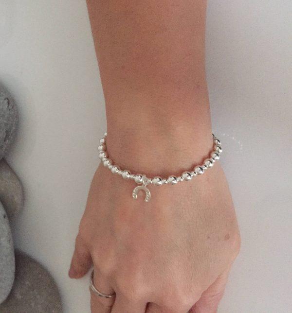 sterling silver horseshoe bracelet 2 5e45c09d