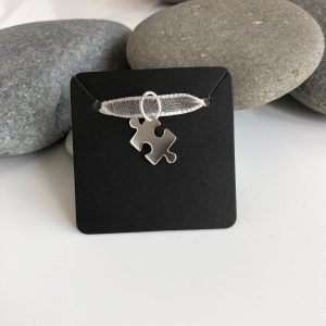 sterling silver jigsaw puzzle piece charm 5e4594ae