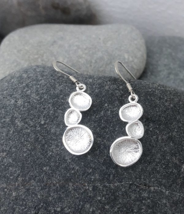 sterling silver pebble earrings 5e45ab6c