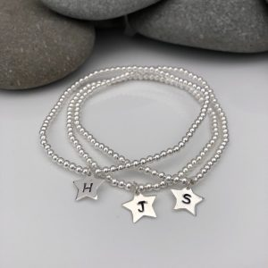 sterling silver personalised stacking bracelets 5e45cfc0