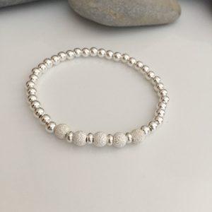 sterling silver stardust bead bracelet 5e459ea3 scaled