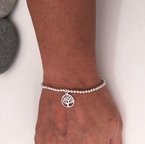 sterling silver tree of life bracelet 5e45998b