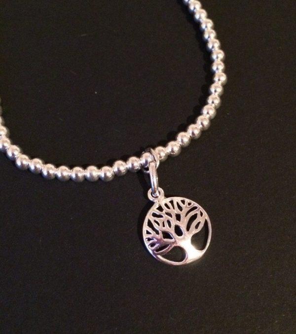 sterling silver tree of life bracelet 5e459993
