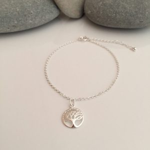 sterling silver tree of life chain bracelet 5e45cee1 scaled