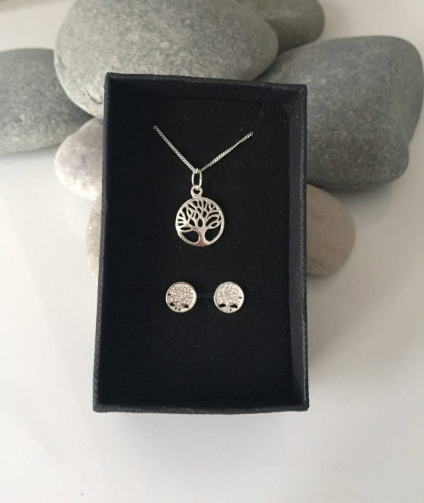 sterling silver tree of life jewellery set 5e45b83b scaled