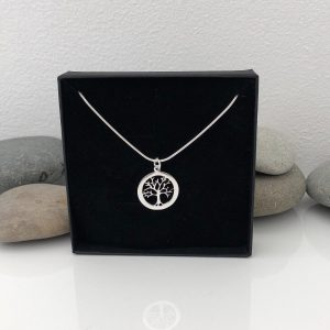 sterling silver tree of life necklace 2 5e459a87