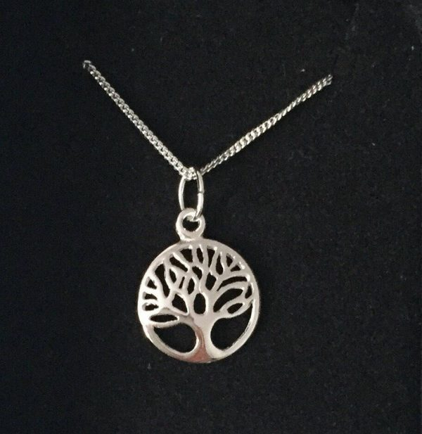 sterling silver tree of life necklace 5e4598ac