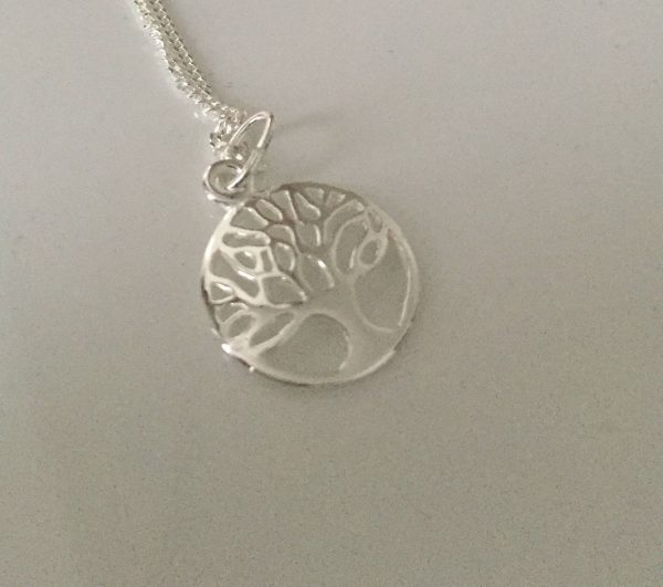 sterling silver tree of life necklace 5e4598c0