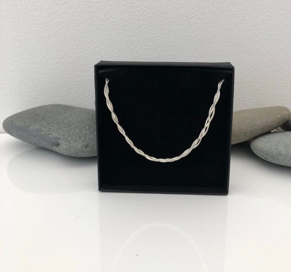 sterling silver woven necklace 5e45b4cc scaled
