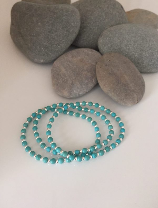 turquoise and sterling silver stacking bracelets 5e45a329 scaled