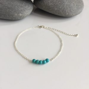turquoise beaded anklet 5e459dd3 scaled